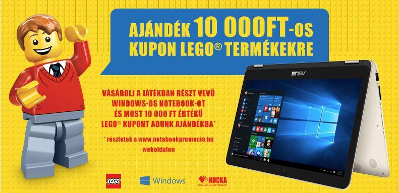 LEGO kupon akció