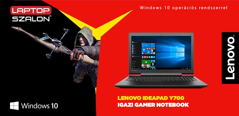 Lenovo Y700 játékerőmű