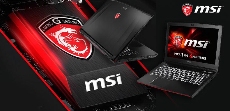 MSI Gamer laptopok