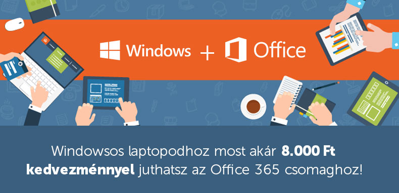 Windows+Office - most éri meg igazán!