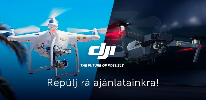 DJI Drónok & Kiegészítők