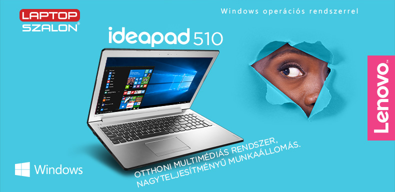 Lenovo IdeaPad 510 - Windows 10