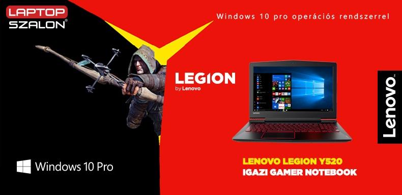 Ajándék táska Lenovo Legion Y520 laptopodhoz!