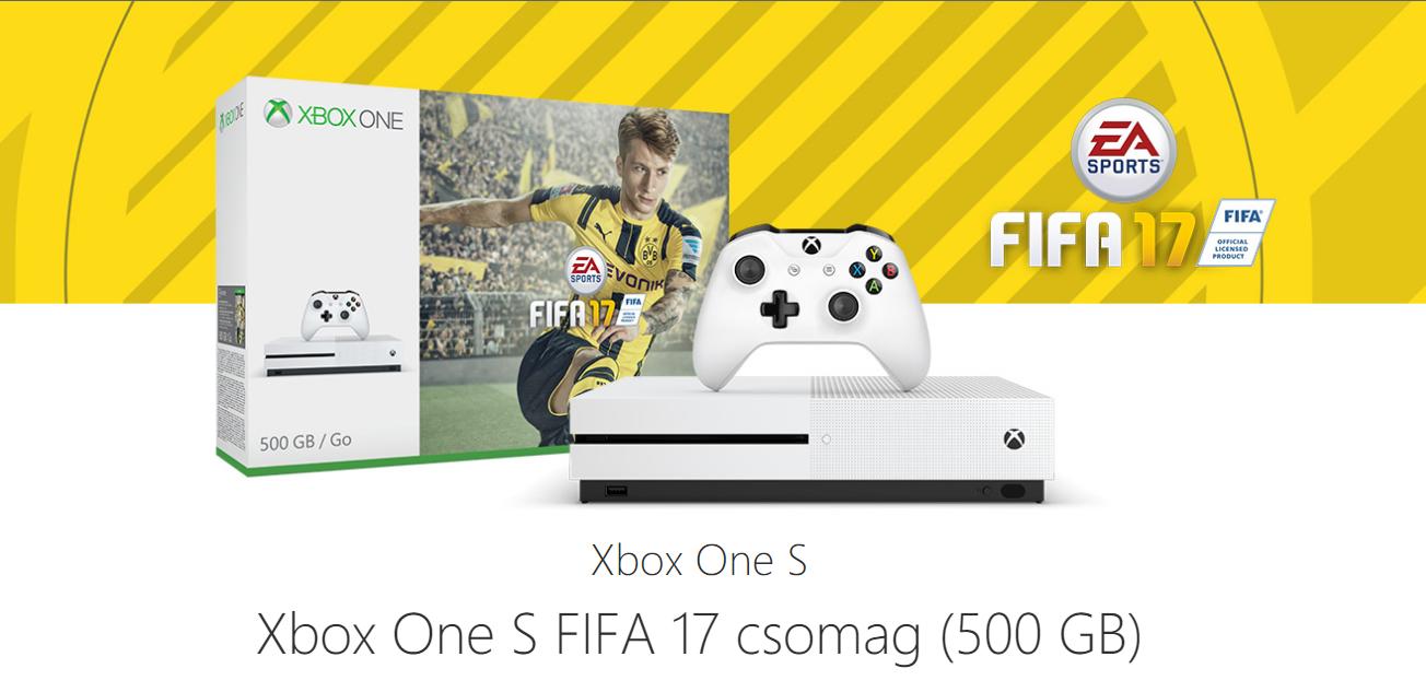 Microsoft Xbox One + FIFA 17