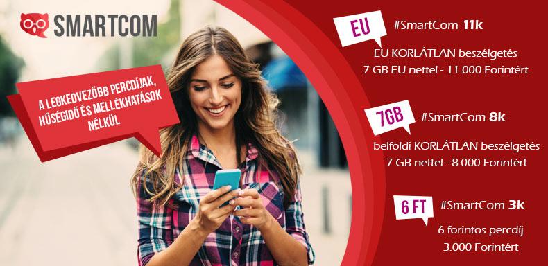 A LEGKEDVEZŐBB mobil díjcsomagok