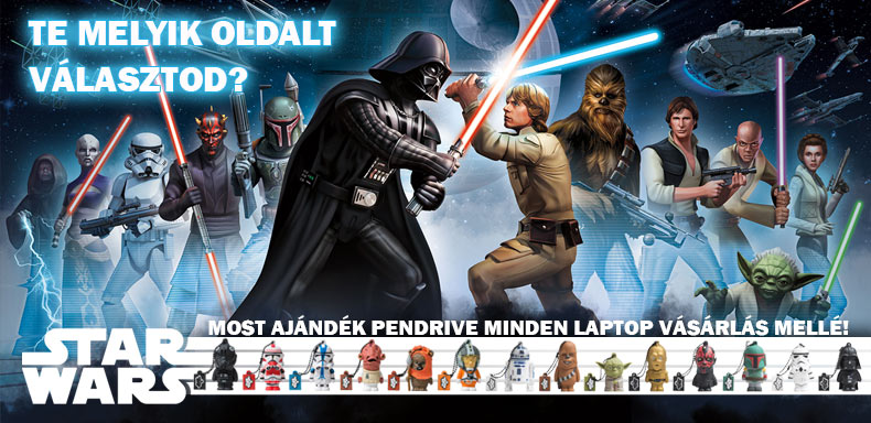 Ajándék Star Wars - Pendrive
