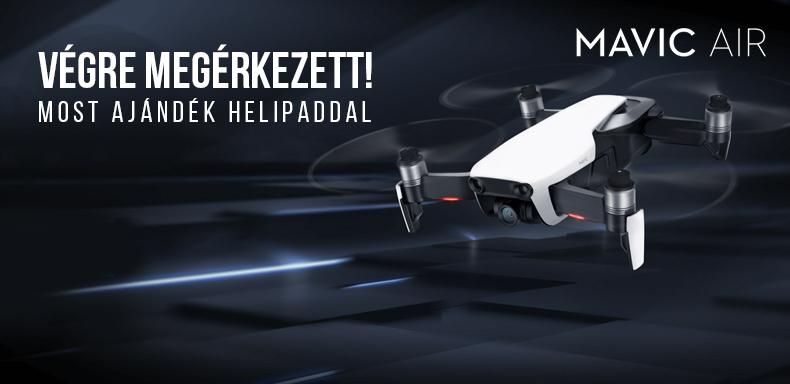 Már kaphatók az új Mavic air drónok!