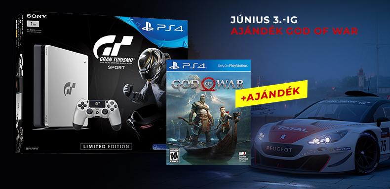 PS4 + Ajándék!