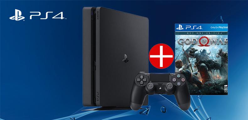 PS4 + God of War játék ajándékba!