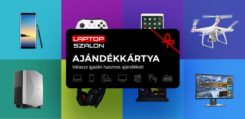 Laptopszalon Ajándékkártya
