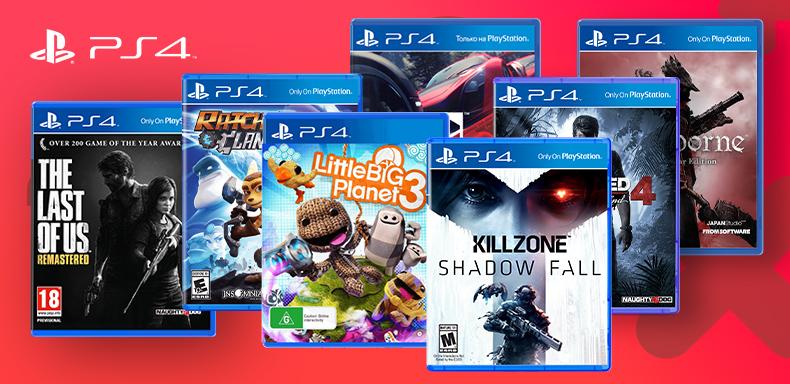 PS4 játék akció