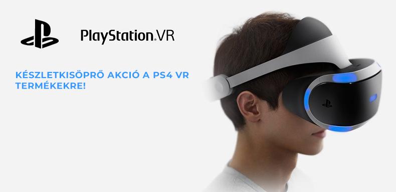 PS4 VR készletkisöprés!