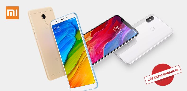 Xiaomi telefonok 2 év cseregaranciával