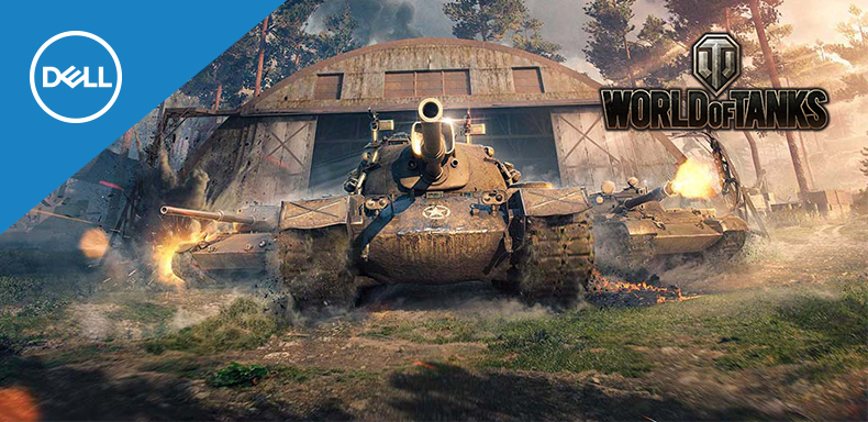 World of Tanks kódot kapsz Dell géped mellé!