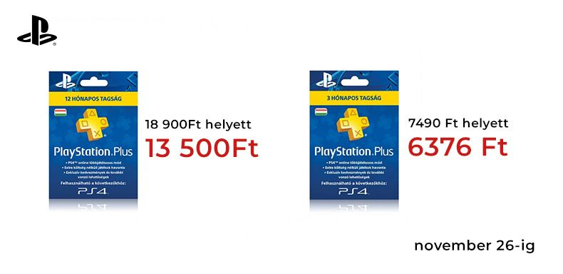 Playstation Plus akció!