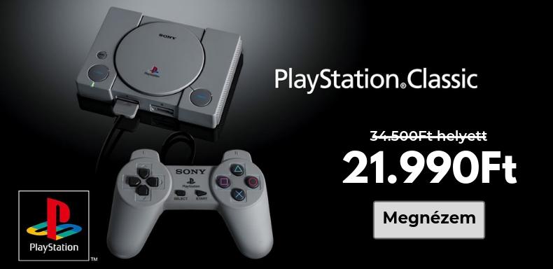 Playstation Classic árzuhanás!