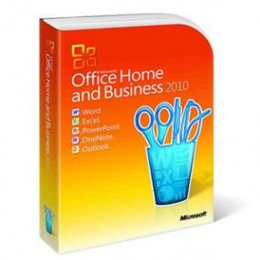 MS Office 2010 Home and Business HUN Termékkulcskártya (1 géphez)