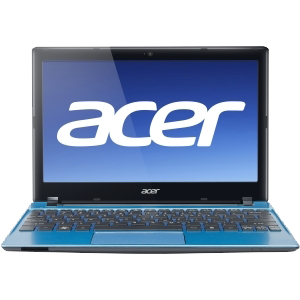 Acer AO756-967B2 / Windows 7 Home Premium 64-bit / 11.6 HD Acer CineCrystal LED LCD / Intel® Pentium® 967 Processor / UMA/ 2 GB + 2GB / 320 GB/ 802.11b/g/n / 4-cell Li-ion battery / Acer Crystal Eye HD webcam / Kék / 2yrs warranty