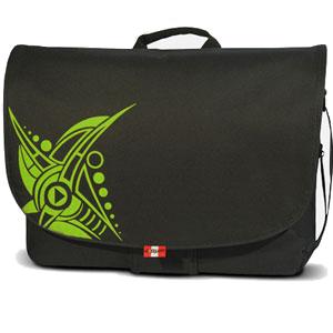 Aqipa Messenger 15,4-17,3 colos dzsungel mintás laptop táska