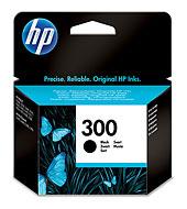HP 300 fekete tintapatron