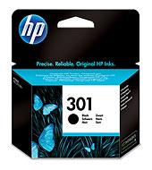 HP 301 fekete tintapatron