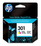 HP 301 színes tintapatron