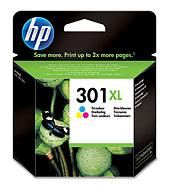 HP 301XL színes tintapatron