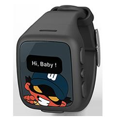 KidFit Intelligens Gyerekóra - Fekete (W268B)