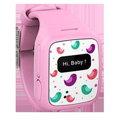 KidFit Intelligens Gyerekóra - Rózsaszín (W268P)
