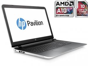 HP PAVILION 17-G154NH, 17.3 FHD AG, A10-8780P, 8GB, 1TB, AMD R7M360 2GB, DOS, FEHÉR