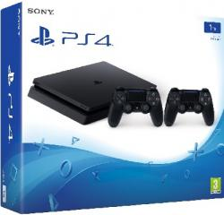 Sony Playstation 4 (PS4) Slim 1TB - 2 DB DualShock 4 Kontrollerrel - 10 Hónapos 0% THM online, vagy üzleteinkben