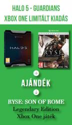 Halo 5 Guardians Limited Edition + Ryse: Son of Rome Legendary Edition letöltőkód (Xbox One) Játékprogram