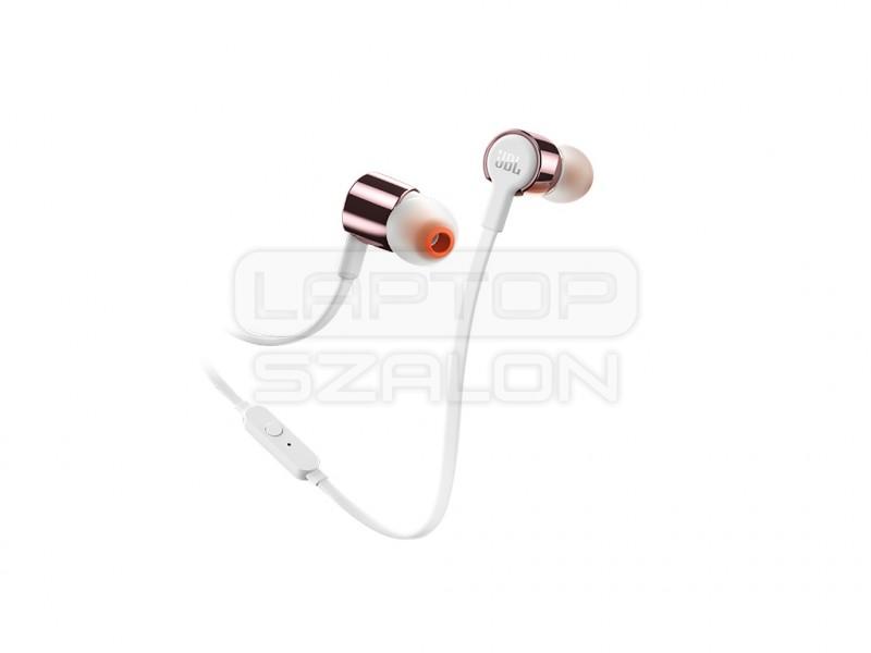 JBL T210 rózszaarany fülhallgató headset  00ce865be9