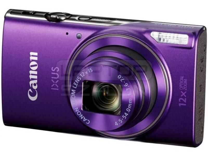 d03b72e26dd4 ... Canon IXUS 285 HS lila digitális fényképezőgép Essential kit - DCC-1350  tok + 8GB ...