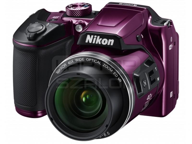 5d4ad470a216 Nikon Coolpix B500 lila digitális fényképezőgép | Laptopszalon.hu