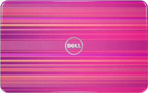 Horizontal Pink - Dell Inspiron N5110 laptop fedlap