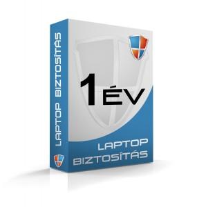 Laptopbiztosítás 1 évre (300e-400e Ft)