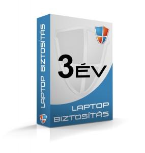Laptopbiztosítás 3 évre (200e-300e Ft)