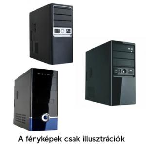 M-TECH Ház M27-10 420W MIDI fekete