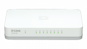 D-Link 8 portos Gigabit asztali switch