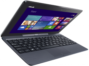 ASUS Transformer Book T100 laptop (Intel® Atom™ Processzor Quad Core™ Z3735/2GB/Intel® HD Graphics/Windows 8.1/Szürke)