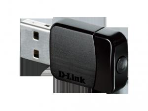 D-Link Vezetéknélküli USB Micro Adapter AC 433 Mbps