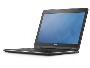 Dell Latitude E7250 laptop (Intel® Core™ i5-5300U Processzor/8GB/Intel® HD Graphics 5500/Windows 7/Fekete)