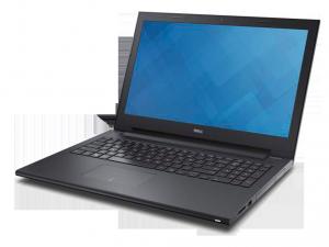 Dell Inspiron 3542 laptop (Intel® Pentium Dual Core™ 3558U/4GB/500GB/NVIDIA GeForce 820M/Linux/Fekete)