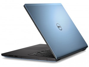 Dell Inspiron 5748 laptop (Intel® Core™ i3-4030U Processzor/4GB/500GB/NVIDIA GeForce 820M/Linux/Kék)