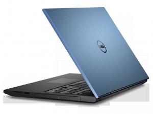 Dell Inspiron 3542 laptop (Intel® Pentium Dual Core™ 3558U/4GB/500GB/Intel® HD Graphics/Linux/Kék)