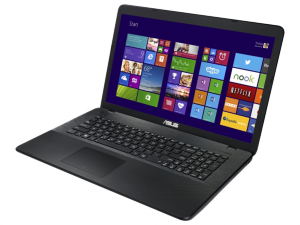 SUS 17,3 HD+ X751SA-TY150D - Fekete Intel® Celeron® Dual Core™ N3060 /1,60GHz - 2,48GHz/, 4GB 1600MHz, 1TB HDD, DVDSMDL, Intel® HD graphics 400, Wifi, Bluetooth, Webkamera, FreeDOS, Fényes kijelző