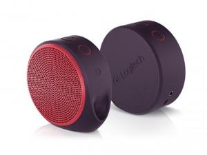 Logitech X100 Bluetooth Hordozható hangszóró Piros