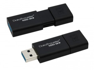 Kingston DataTraveler 100 G3 - 64GB USB 3.0 (DT100G3/64GB) Pendrive