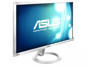 Asus 23 VX239H-W LED DVI HDMI/MHL kávanélküli fehér multimédia monitor